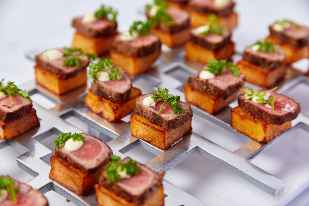 steak frites hors d'oeuvres