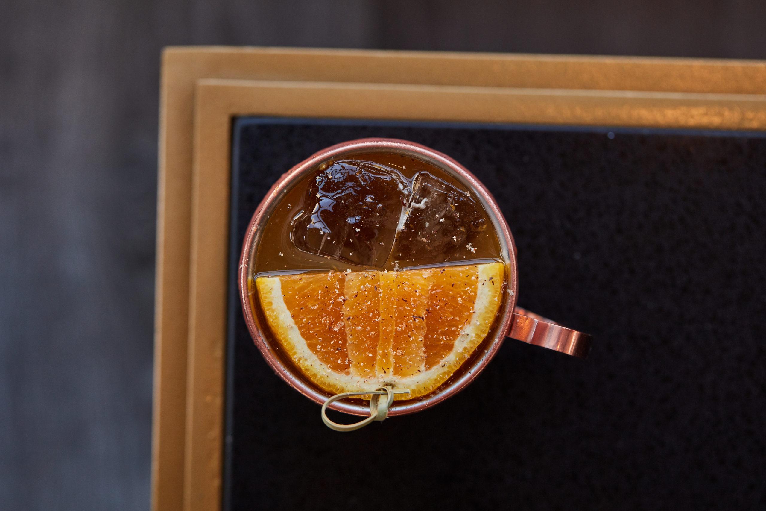 Pumpkin Spiced Mule